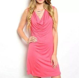 True Light Pink Sleeveless Dress Size Small